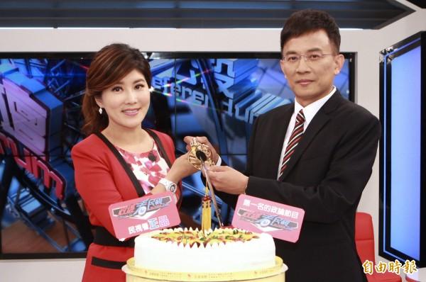 《政經》收視稱霸  李晶玉感性PO文致謝