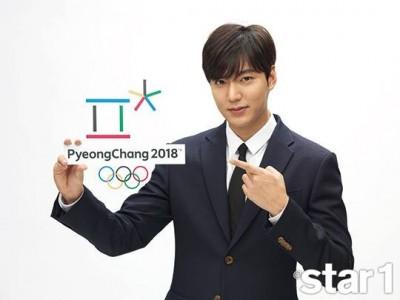 李敏鎬成2018平昌冬奧宣傳大使:很驕傲自豪