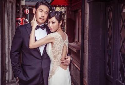 陳怡蓉真的嫁出去了 婚紗熱騰騰曝光