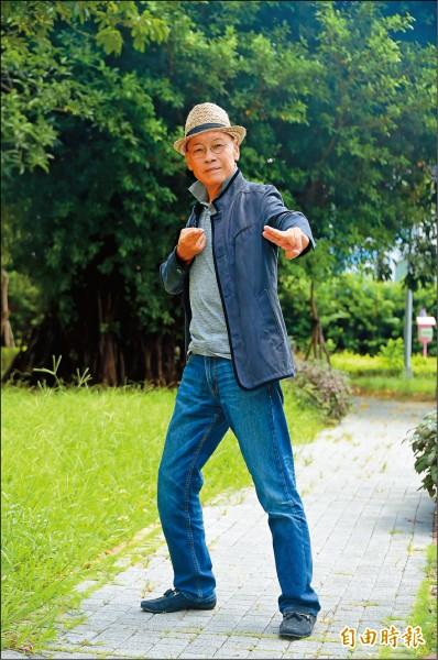 大醉俠不耍刀    74歲岳華聲援「寶島回想曲」