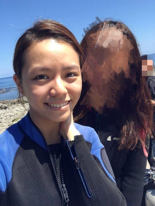 潛水巧遇宋芸樺  她燦笑:我們來自拍!