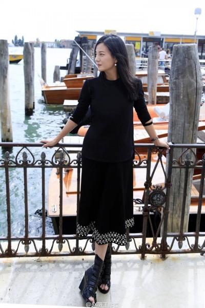 趙薇出席威尼斯影展  一吐《別》片被抵制鳥氣