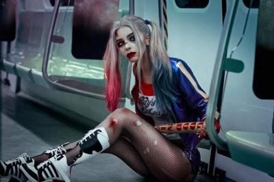 (圖多)比本尊正!辣模cos小丑女超到位 卸妝後顏值破表