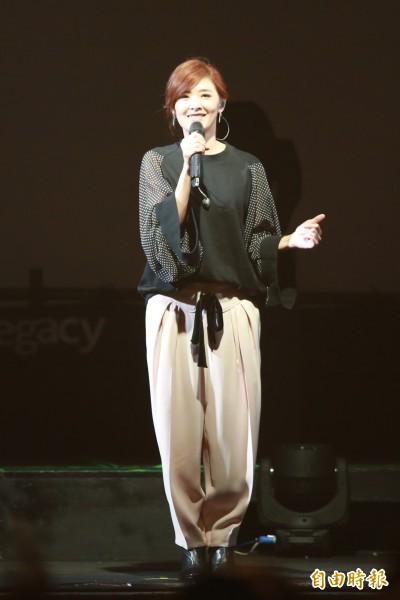 (影音)蘇慧倫當媽後首唱 玉女歌手想轉「系」