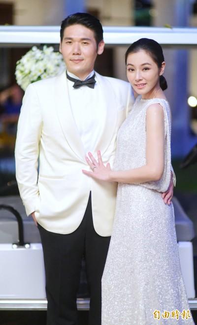 陳怡蓉大婚晚宴熱吻老公 楊謹華爆乳強壓新娘