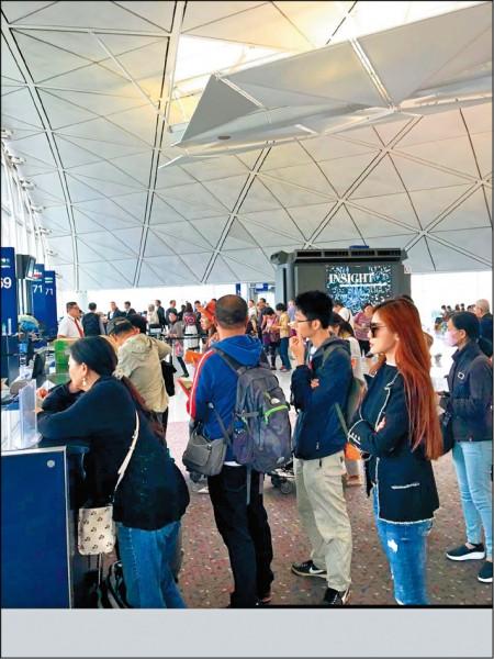 痛批長榮颱風天硬飛 吳玟萱迫降香港驚恐一夜