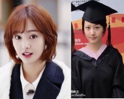 明星畢業照曝光 鄭爽「半截眉毛」最搶鏡