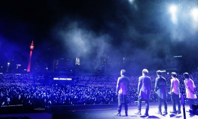 五月天巡迴到大馬  2萬歌迷嗨爆終點站