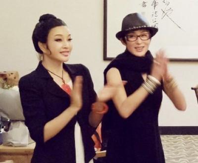 最強美魔女組合  60歲劉曉慶同框49歲張敏