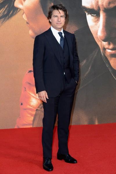 湯姆克魯斯為什麼帥?答案是西裝!