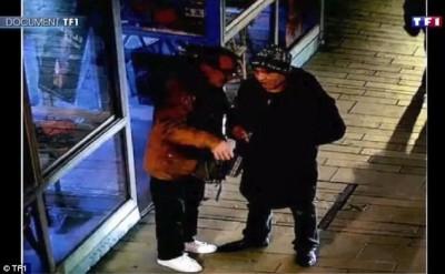 豐臀金巴黎遇劫現場    綁匪監視器畫面曝光