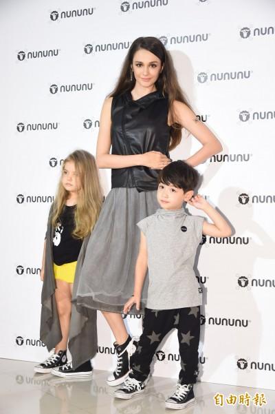(影音)NUNUNU風靡好萊塢  媽咪瑞莎秀時尚童裝