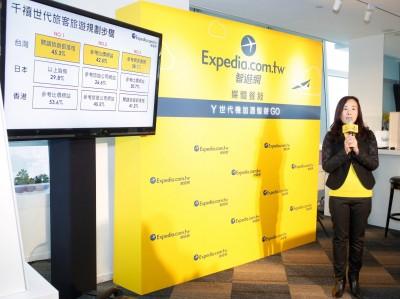 拓展年輕客群市場  Expedia推機+酒優惠
