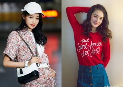 中國女演員鬧雙胞  網調侃:同個整形醫生