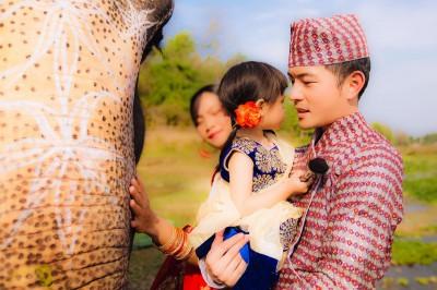 宥勝心疼大象的悲傷 放棄這張婚紗照