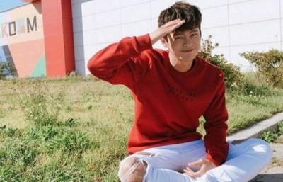 (影音)徐仁國今低調入伍  告別禮物逼哭粉絲