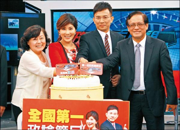 民視股東大鬥法 董事長郭倍宏老神在在