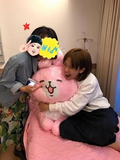 Lulu卵巢囊腫開刀 經紀人回報病況...