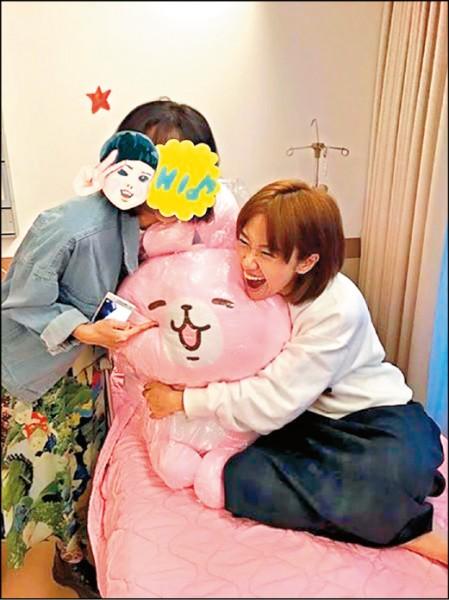 Lulu卵巢大囊腫 生日動手術