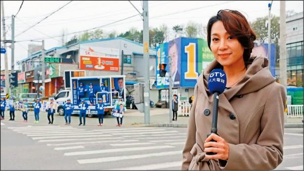 石怡潔帶記者魂出差      北韓慶建軍南韓人安啦