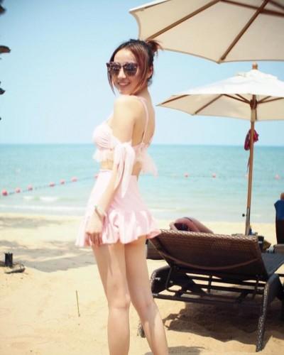 《蜜桃成熟時》童星長大泰國解放 粉色比基尼鄉民求高清