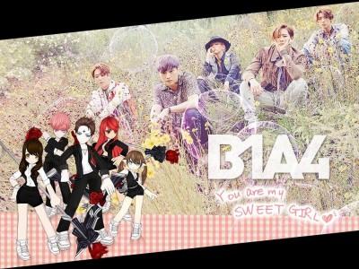 線上遊戲聯名韓團B1A4 粉絲來搶親筆簽名單曲!