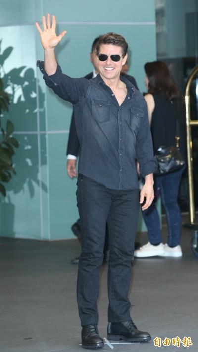 最常來台好萊塢明星 阿湯哥50公尺紅毯簽名3小時
