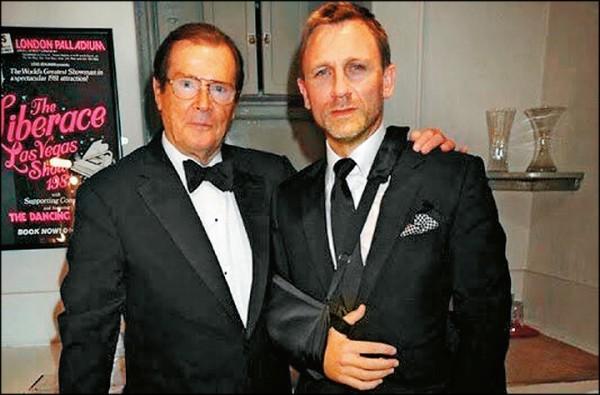 追悼羅傑摩爾 現任007:無人能取代