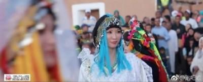 林志玲現身摩洛哥選美 東方美秒殺當地佳麗