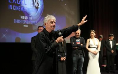 杜可風獲坎城攝影成就獎 影后名導祝賀
