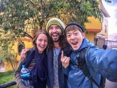 旅遊南美被外國人告知同婚釋憲 宥勝爽喊:台灣超棒!