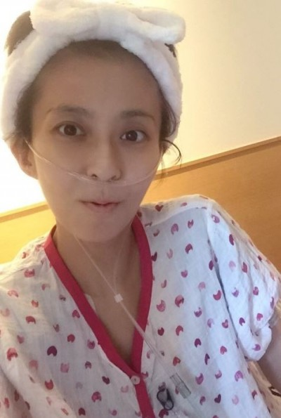 也是拖延!美女主播癌擴散下巴 不樂觀
