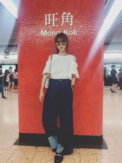 粉絲香港巧遇本尊  竟說「你好像邵雨薇」