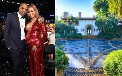 喜迎雙胞胎出院回家 碧昂絲夫妻入住月租1220萬十房豪宅育兒