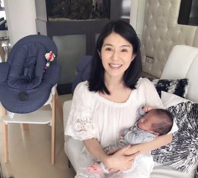楊采妮42歲生完雙寶神恢復 大兒子正面終於曝光!