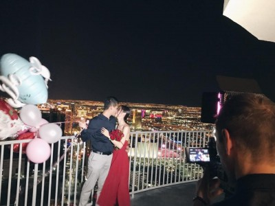 《大學生》玄玄嫁5年男友!賭城最高樓求婚成功