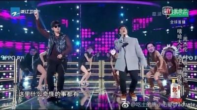 (影音)陳奕迅崩潰走音40秒 周董笑歪了