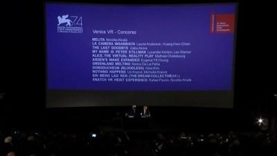 藝術家黃心健VR作品 入圍威尼斯影展