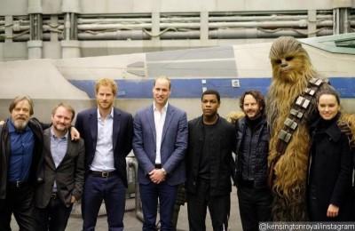 英兩王子加盟《星戰8》 演出龍套「風暴兵」