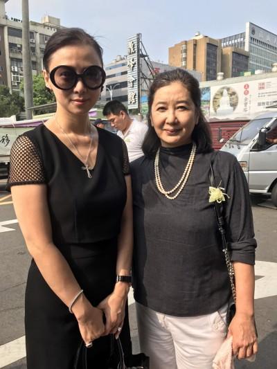《無間道》台灣推手告別式 凍齡女星致哀成焦點