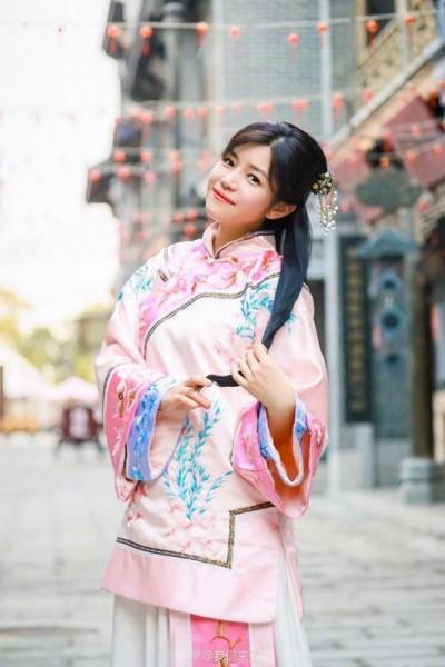 陳妍希再穿古裝 仙氣壓勝小龍女