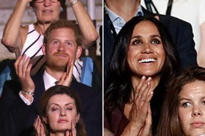 終於!準王妃梅根馬可與哈利王子首度公開同台