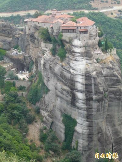 漫遊天空之城  希臘世界遺產「梅提歐拉」