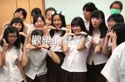(影音)楊月娥17歲女罹血癌 全班醫院集合拍畢業照