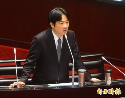 賴清德立院報告「文化臺灣」列國家建設首位  鄭麗君:很感動