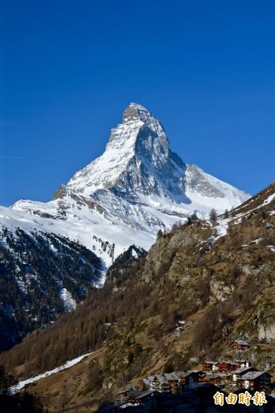 我最好認!瑞士馬特洪峰山形獨特辨識度高