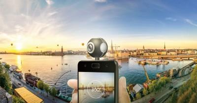 華碩360度全景攝影機免4千元 插上手機就能用