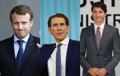 31歲最年輕領袖誕生  政壇花美男洗牌