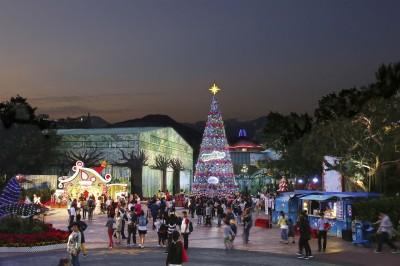 歡樂聖誕節  香港海洋公園VR雲霄飛車獨特佳節體驗