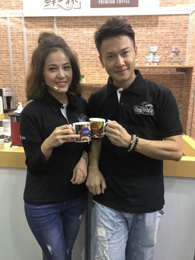 魚干女蘇晏霈化身女神  勾螢幕男友王建復賣咖啡